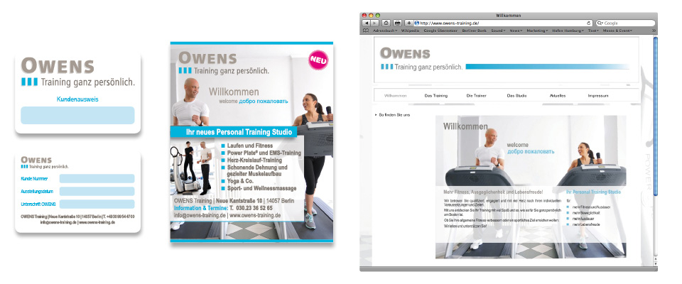 Corporate Design Owens Training